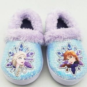 Kids Frozen Ballet Slippers